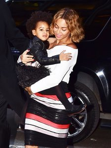 The Most Adorable Pictures of Blue Ivy From Tina Knowles' Wedding