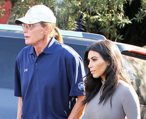 Kim Kardashian Visits Bruce Jenner Following Diane Sawyer Interview: Pics