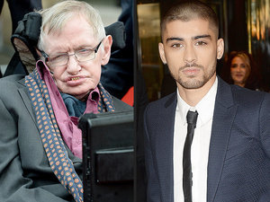 Even Stephen Hawking Has an Opinion on Zayn Leaving One Direction