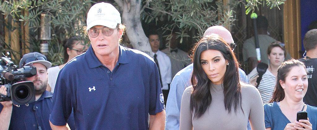 "Kim Kardashian on Bruce Jenner's Transition: ""I Support Him 100 Percent"""