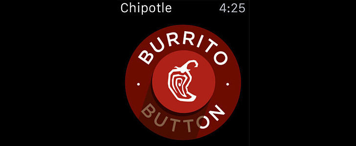Chipotle's New Burrito Button Is Everything