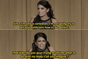 Cecily Strong Calls Out Anti-Choice Lawmakers At White House Correspondents Dinner