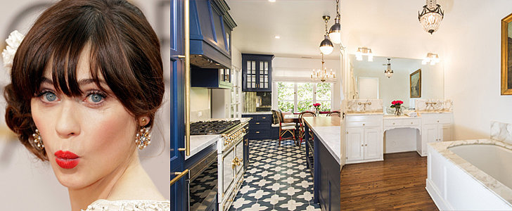 Surprise! Zooey Deschanel's Hollywood Home Oozes With Vintage Charm