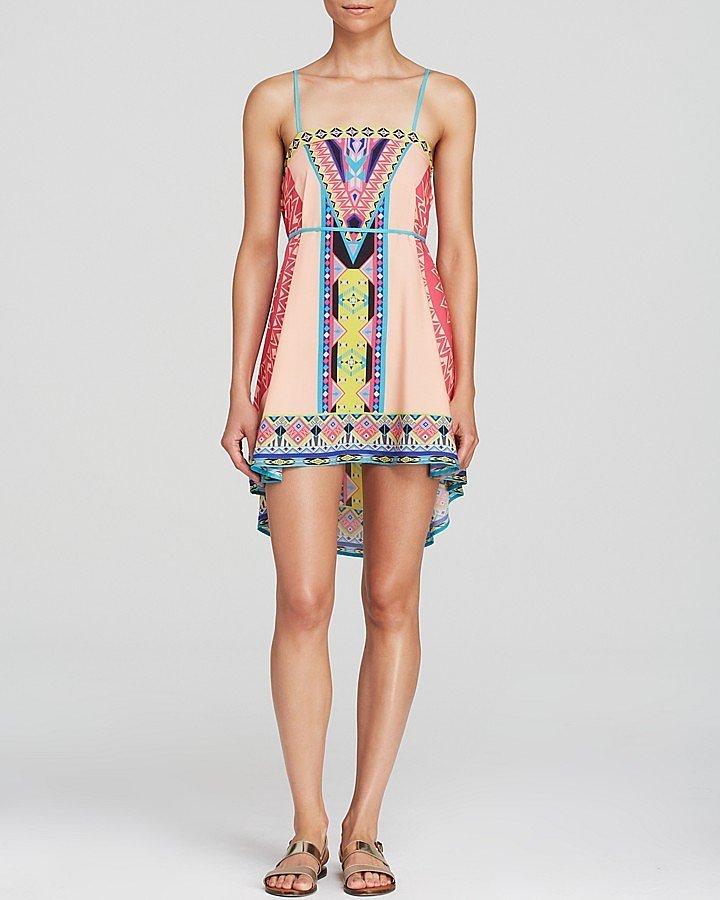 Peach Puff Dress ($68)