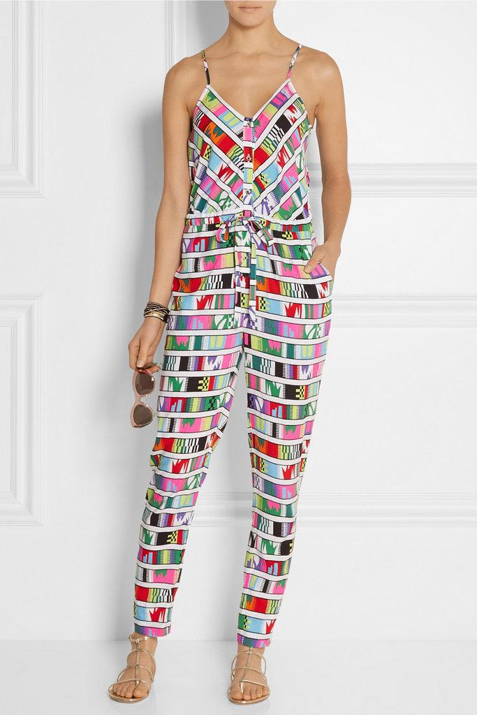 Mara Hoffman Printed Voile Jumpsuit ($250)
