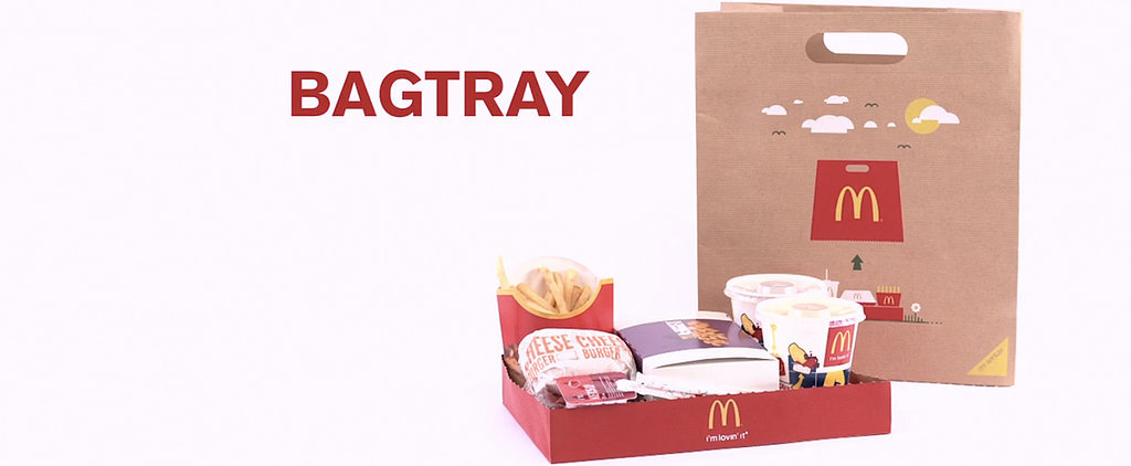 McDonald's Packaging Innovation, the Bagtray, Is Actually Pretty Brilliant