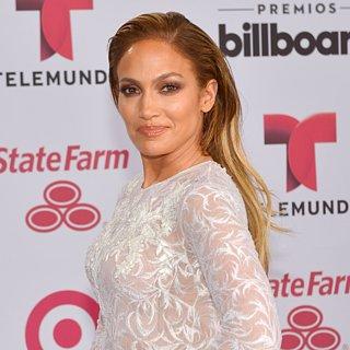 Jennifer Lopez trifft ihren Ex Marc Anthony auf dem roten Te