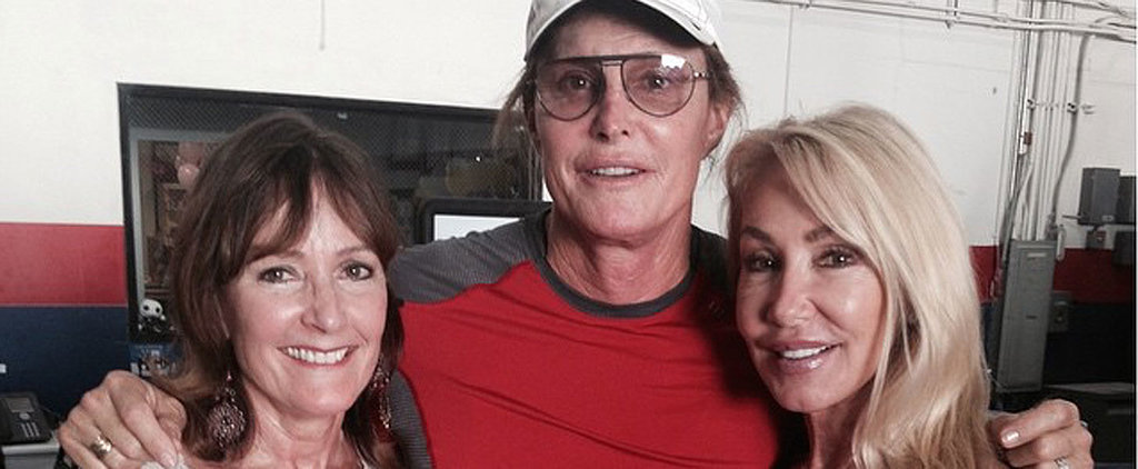 Bruce Jenner Is All Smiles in a Sweet New Photo With 2 of His Ex-Wives