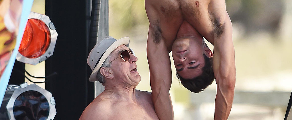 Things Are Really Weird Yet Also Really Hot on the Dirty Grandpa Set