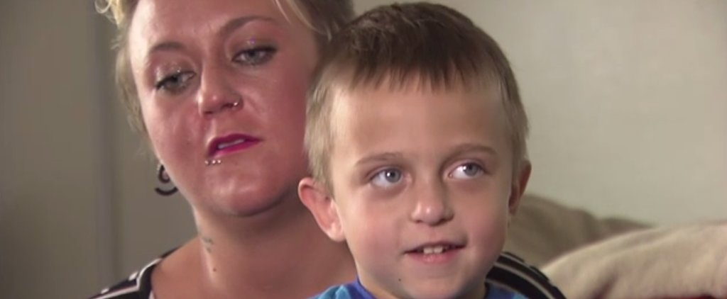 "Using His Superpowers of ""Love and Peanut Butter,"" 5-Year-Old Boy Saves His Mom's Life"
