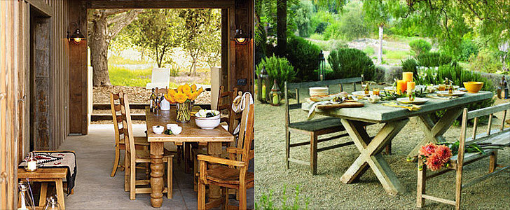 21 Ideas For Outdoor Dining Rooms