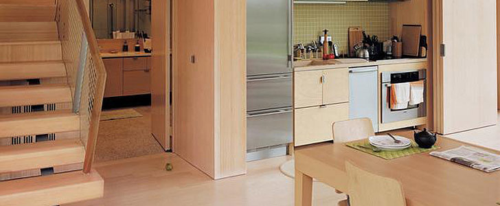 How Cool Are These Concealed Kitchens?