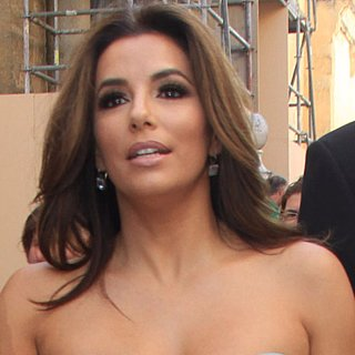 Eva Longoria Barefoot at Spanish Wedding