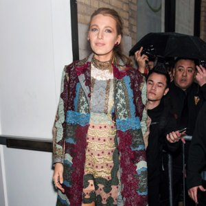 Blake Lively Age of Adaline Press Tour Outfits