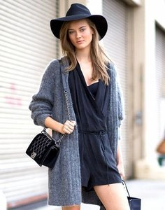 Model-Off-Duty Style: Get Monika Jagaciak's Cozy Weekend Look