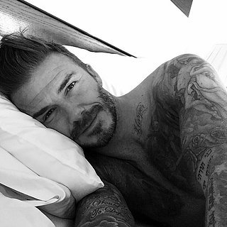 David Beckham Shares a Shirtless Selfie From His Birthday Celebration
