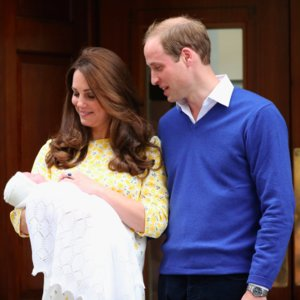 Royal Baby Girl First Appearance in GIFs