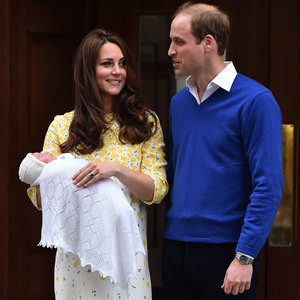 First Pictures Kate Middleton and Prince William's Daughter