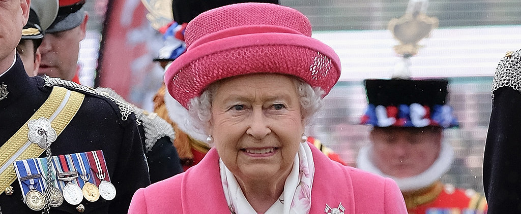 Queen Elizabeth II Celebrates the New Princess With an All-Pink Outfit