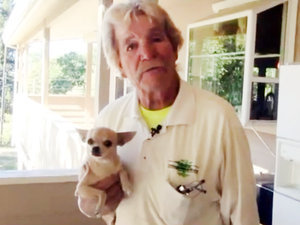 California Man Punches a Bear to Save His Chihuahua