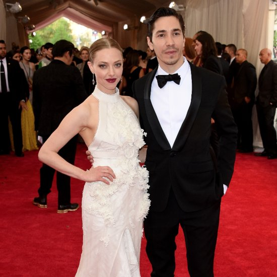 Amanda Seyfried Justin Long at Met Gala May 2015