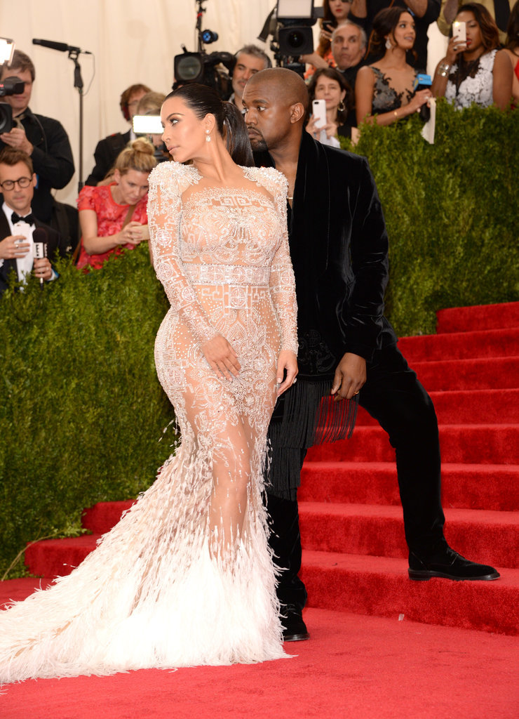 Kim Kardashian's Sexy Pose Stops Traffic on the Met Steps