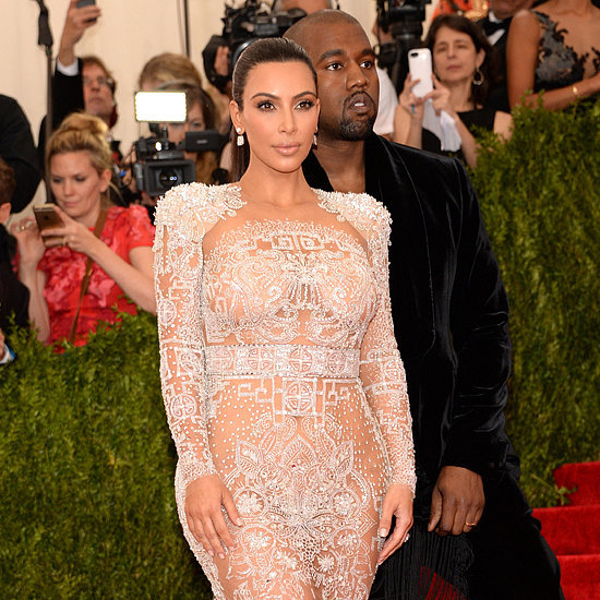Kim Kardashian's Roberto Cavalli Dress at Met Gala 2015