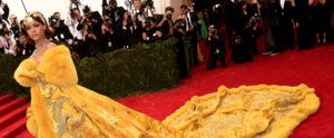 You Can't Miss Rihanna on the Met Gala Red Carpet