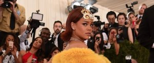 Rihanna Gets All the Stares — and All the Stairs — in Her Major Met Gala Gown