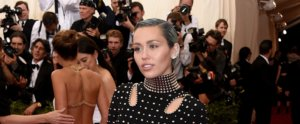 Miley Cyrus Has Coolest Ice Blue Hair at the Met Gala