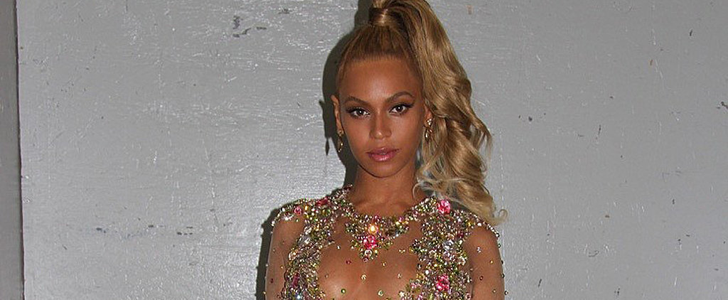 You Need to See Beyoncé's Nearly Naked Met Gala Look