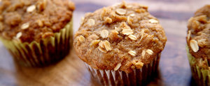 Banana Oatmeal Crumb Muffins That Skip the Oil For Avocado Instead