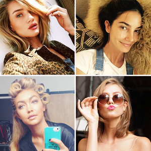 Peek Inside These 4 Supermodels' Beauty Routines