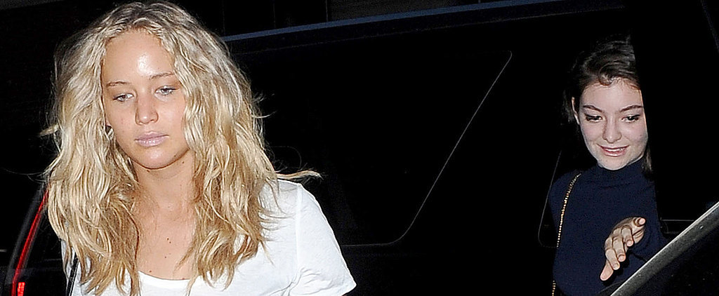 Jennifer Lawrence and Lorde Link Up For a Night Out in NYC