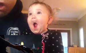 May the 4th Be With You! Babies React to Star Wars Trailer