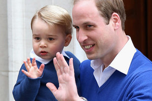 We Need To Talk About The Adorable Matching Sweaters Prince George And His Dad Wore