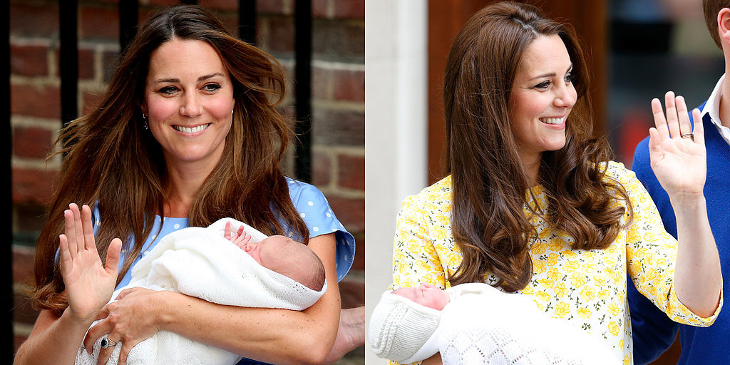 A Comparison of Prince George's and Princess Charlotte's Debuts