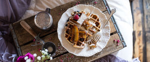 Belgian Chocolate Waffles Are the Perfect Mother's Day Treat