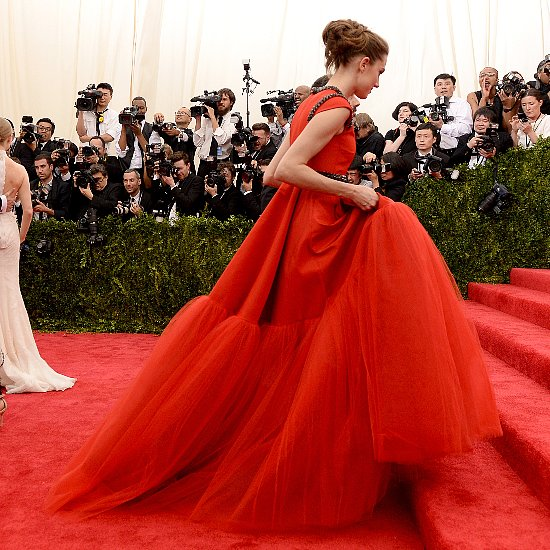 Red Clothing and Accessories Inspired By The 2015 Met Gala
