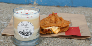 World, We Present The 'Double Down' Fried Chicken... Candle