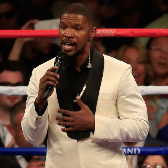 "Jamie Foxx Responds to His National Anthem Critics: ""The Telecast Was Off"""