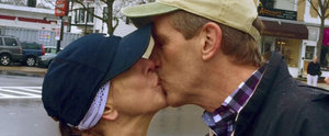 Woman Kisses a Stranger at the Boston Marathon and Gets Response From His Wife