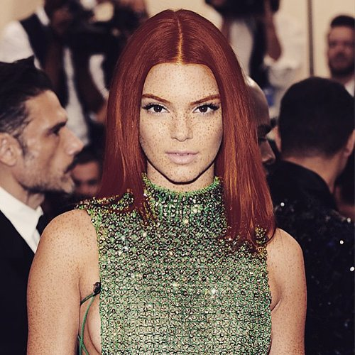 Celebrities as Redheads | Instagram Photos