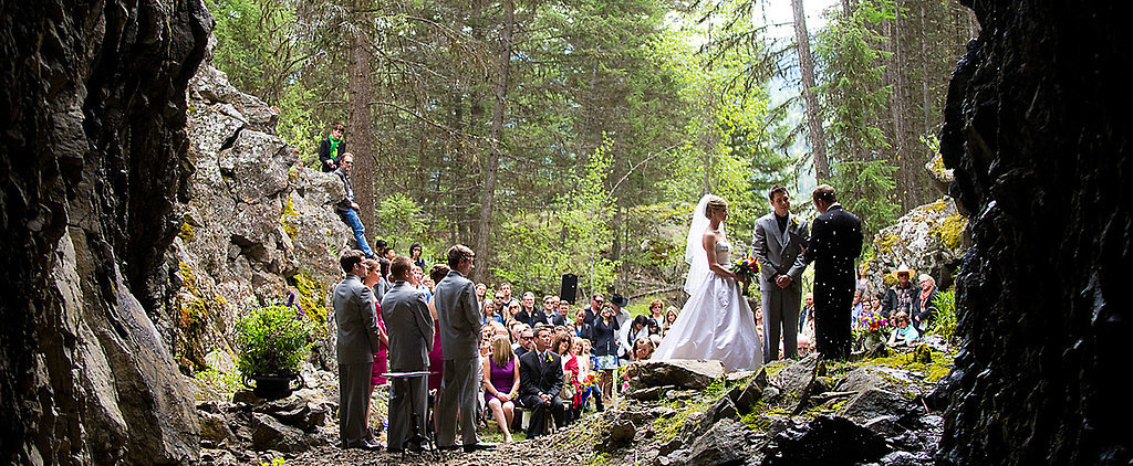 You Have to See This Canadian Wedding — It's in a Cave!