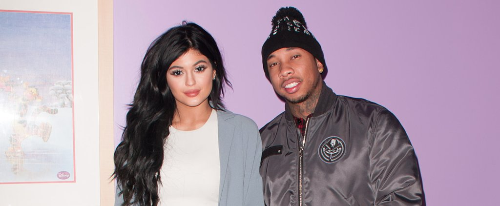 Kylie and Tyga Do Dinner in NYC