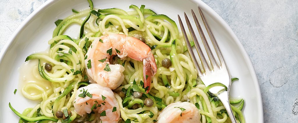 This Easy Shrimp Piccata With Zucchini Noodles Is Perfection