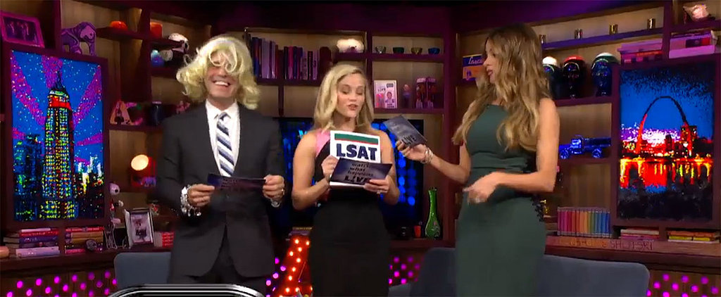 """Reese Witherspoon Reenacted a Hilarious Scene From Legally Blonde: """"Road Trip!"""""""