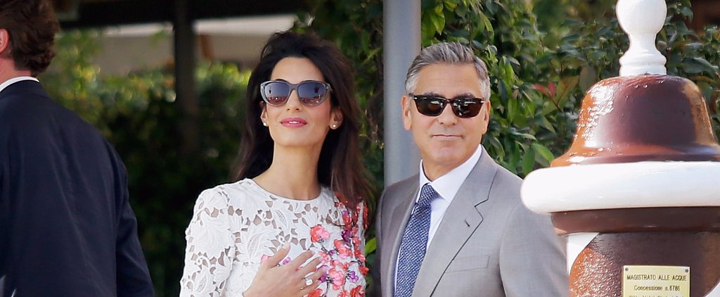12 Times George and Amal Clooney Were the Most Stylish Couple on the Planet