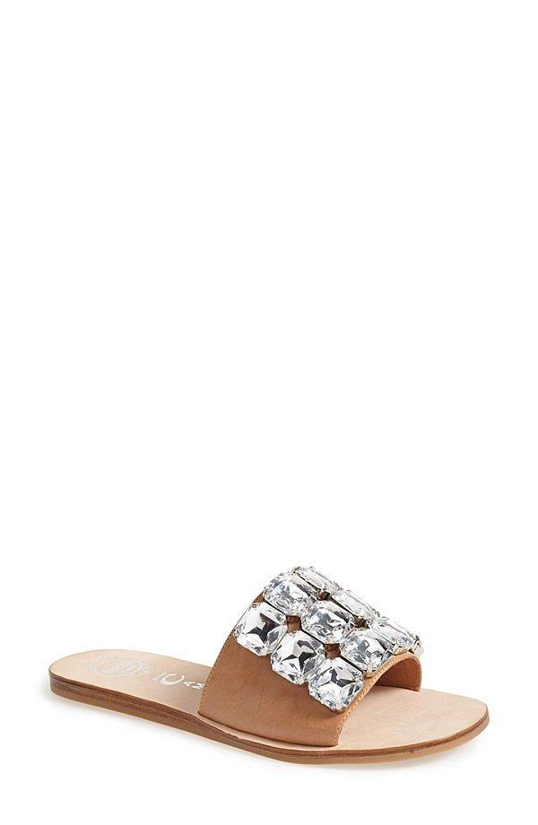 Jeffrey Campbell Jeweled Slides