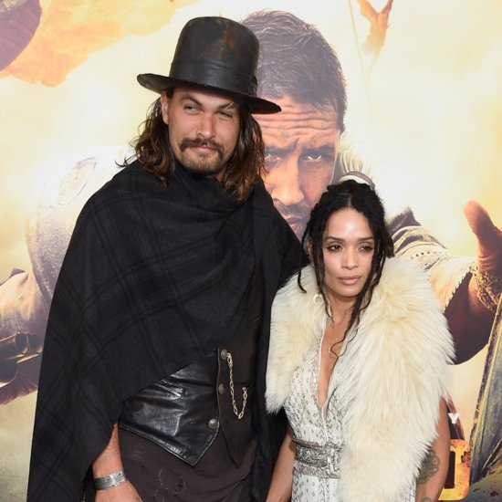 Lisa Bonet and Jason Momoa at the Mad Max Premiere